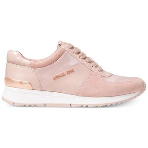 Authentic MICHAEL KORS Pink & Rose Gold Sneakers